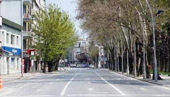 58 saatlik sokağa çıkma yasağı başladı