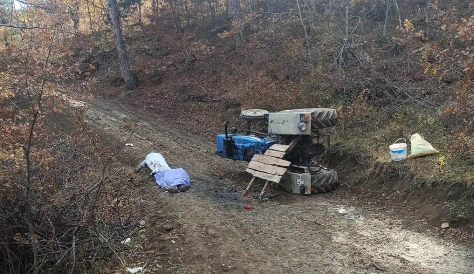 Mantar toplamaya giderken kaza yaptılar: 2 ölü, 1 yaralı